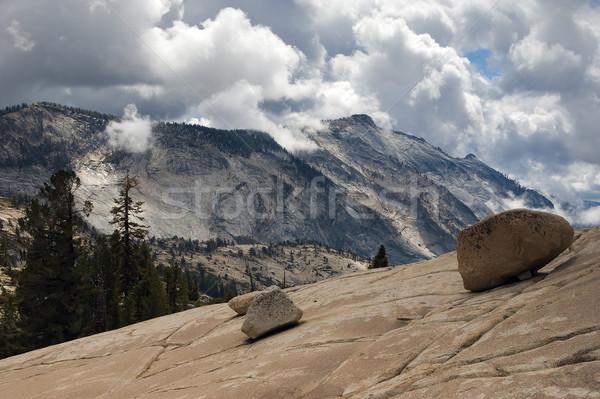 Yosemite parc national de yosemite montagnes Amérique montée Photo stock © MichaelVorobiev