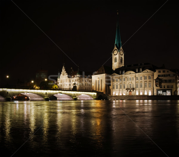 Zurich Stock photo © MichaelVorobiev
