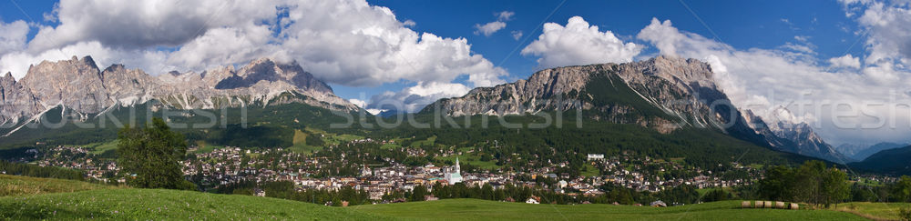 Cortina d'Ampezzo Stock photo © MichaelVorobiev