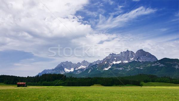 Austrian Alps Stock photo © MichaelVorobiev