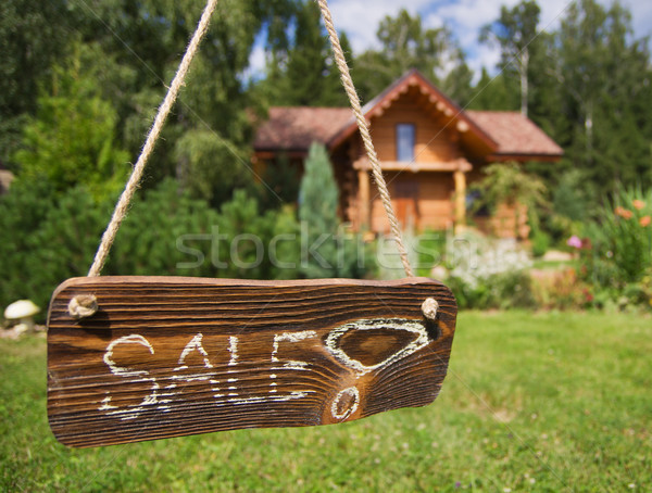 House for sale Stock photo © MichaelVorobiev