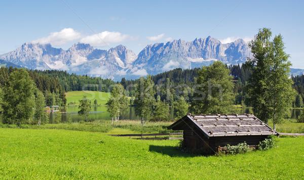 Tirol landscape Stock photo © MichaelVorobiev