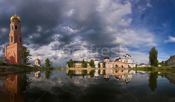 Ruso monasterio Moscú región Rusia cielo Foto stock © MichaelVorobiev