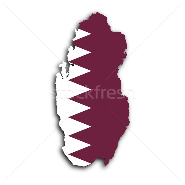Pokaż Katar tekstury streszczenie tle podróży Zdjęcia stock © michaklootwijk