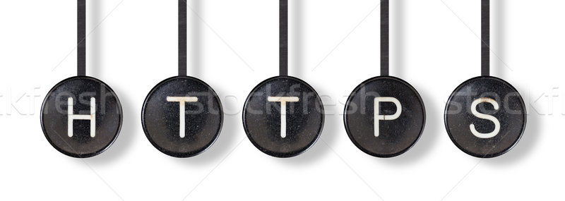 Typewriter buttons, isolated - Https Stock photo © michaklootwijk