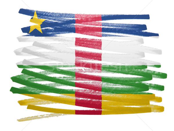 フラグ 実例 セントラル アフリカ 共和国 ペン ストックフォト © michaklootwijk