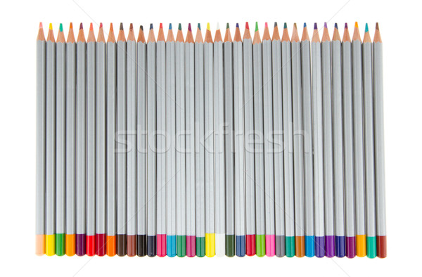Many different color pencils Stock photo © michaklootwijk