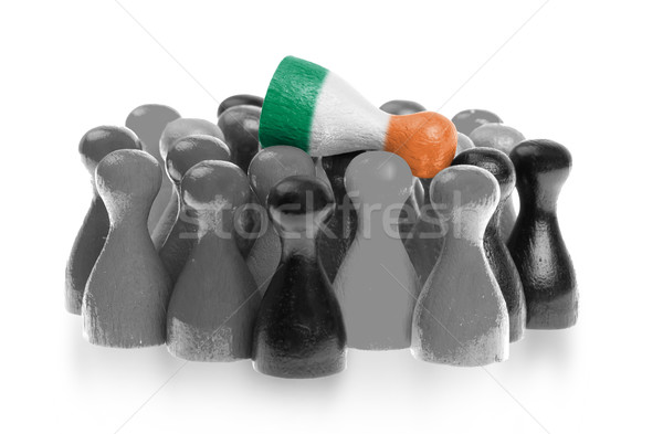 Bir üst bayrak İrlanda Stok fotoğraf © michaklootwijk