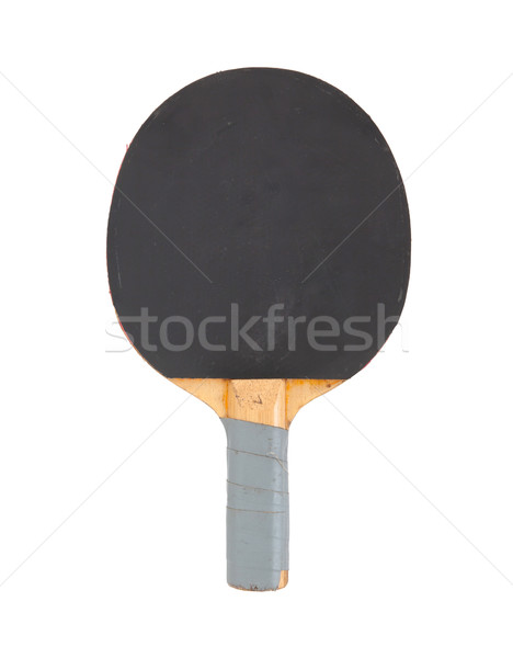 Pingpong racket isolated on white background Stock photo © michaklootwijk