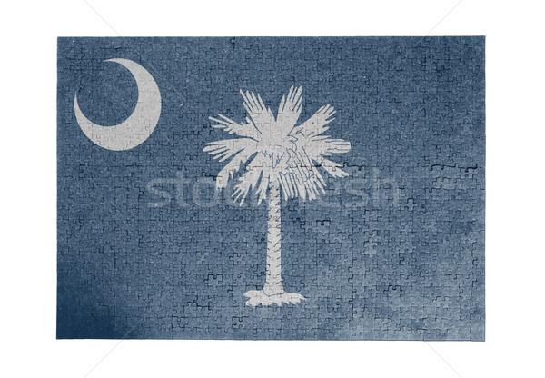 1000 pezzi Carolina del Sud bandiera Foto d'archivio © michaklootwijk