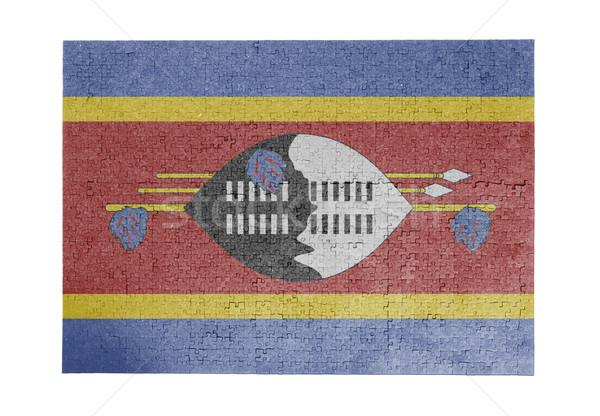 1000 sztuk Suazi banderą Zdjęcia stock © michaklootwijk