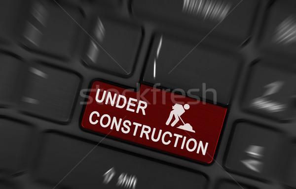 Under construction  Stock photo © michaklootwijk