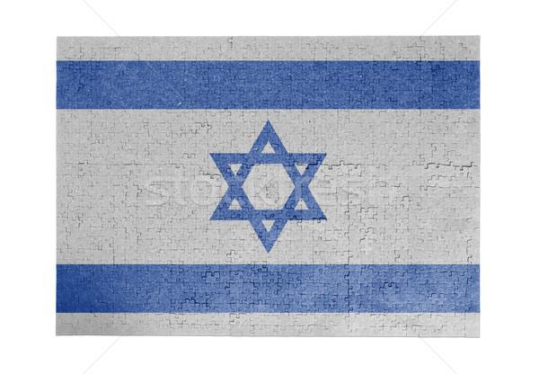1000 pièces Israël pavillon Photo stock © michaklootwijk