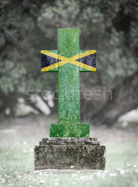 Gravestone in the cemetery - Jamaica Stock photo © michaklootwijk