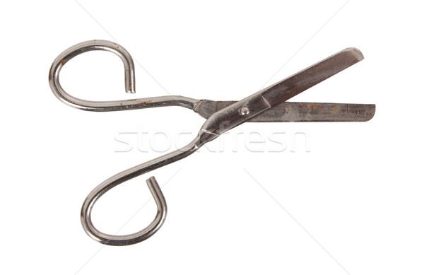 Open scissor Stock photo © michaklootwijk