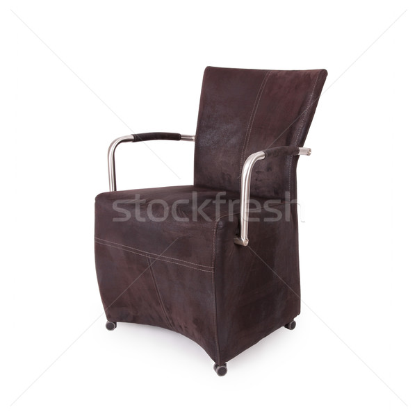 Leather dining room chair  Stock photo © michaklootwijk