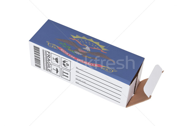 Exportar producto Dakota del Norte papel cuadro Foto stock © michaklootwijk