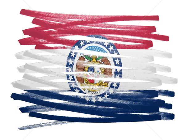 Flag illustration - Missouri Stock photo © michaklootwijk