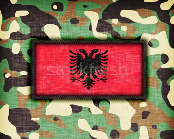 Amy camouflage uniform, Albania Stock photo © michaklootwijk