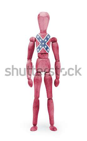 Jointed wooden mannequin isolated on white background Stock photo © michaklootwijk