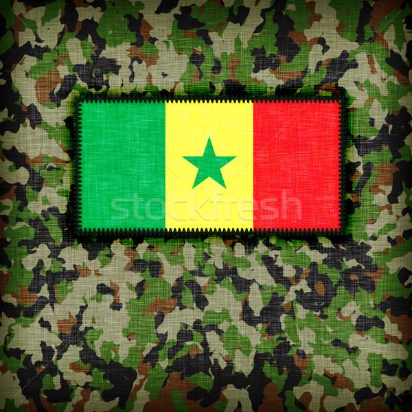 Amy camouflage uniform, Senegal Stock photo © michaklootwijk