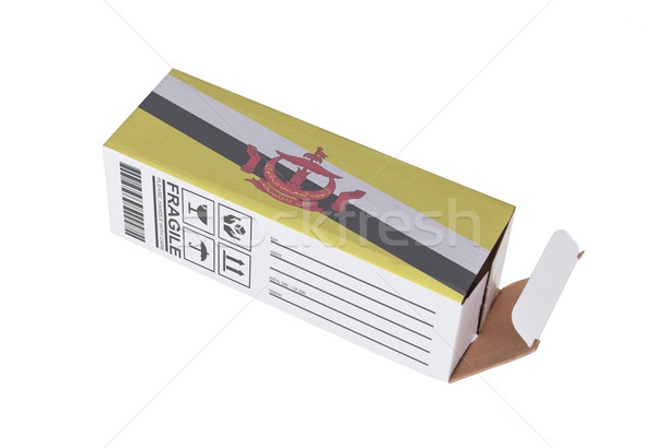 Exportar producto Brunei papel cuadro Foto stock © michaklootwijk