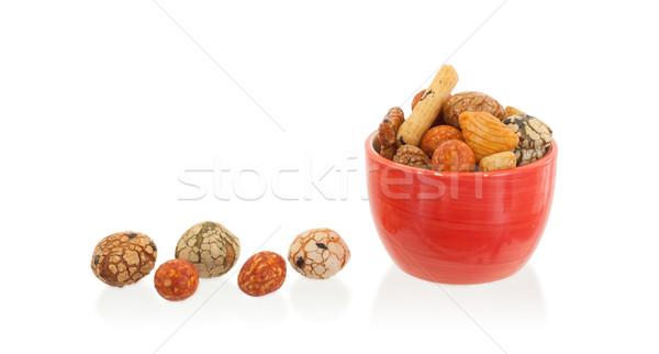 Mix of Japanese nuts Stock photo © michaklootwijk