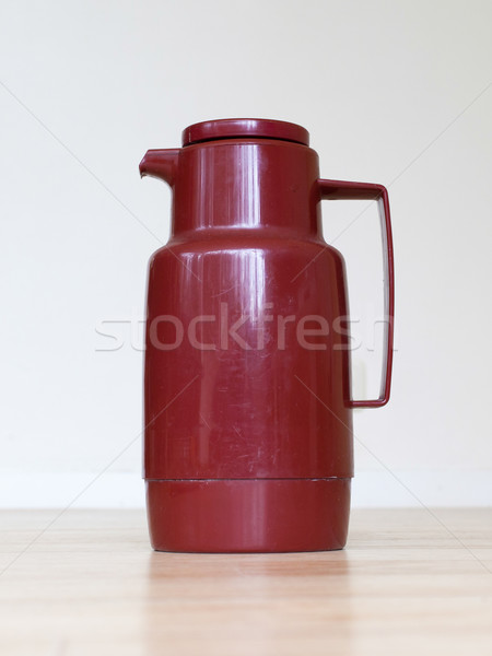 Old coffee tumbler (Thermo bottle) Stock photo © michaklootwijk