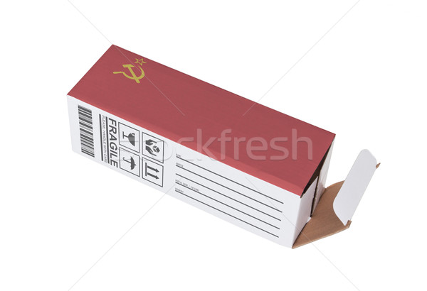 Concept of export - Product of USSR Stock photo © michaklootwijk