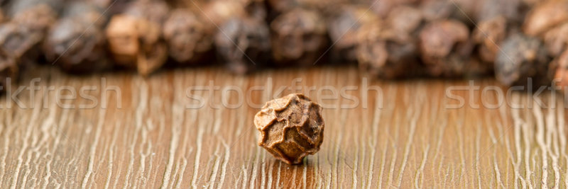 Black pepper isolated Stock photo © michaklootwijk