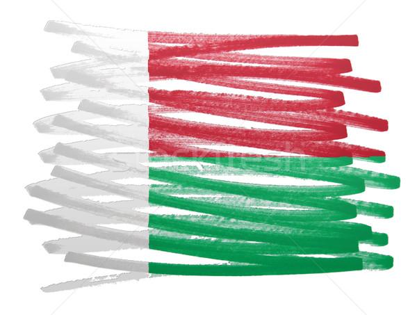 Pavillon illustration Madagascar stylo affaires peinture Photo stock © michaklootwijk