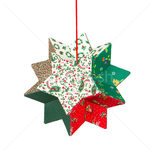 Butcher's broom, christmas decoration, isolated Stock photo © michaklootwijk