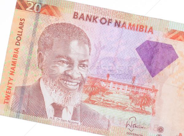 Twenty Namibian Dollars Stock photo © michaklootwijk