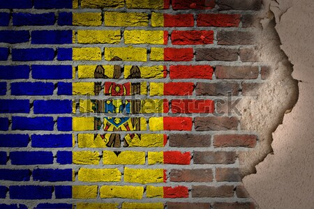Dark brick wall - LGBT rights - Scotland Stock photo © michaklootwijk