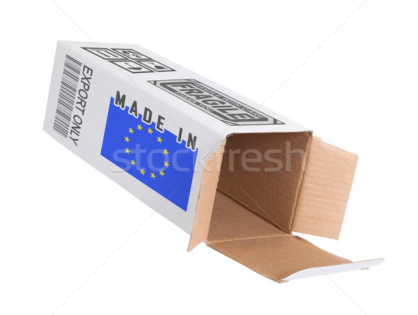 Concept of export - Product of the European Union Stock photo © michaklootwijk