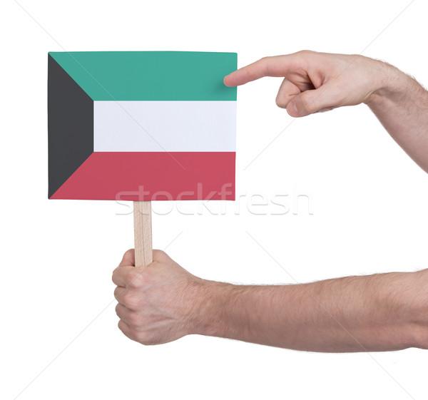 стороны небольшой карт флаг Кувейт Сток-фото © michaklootwijk