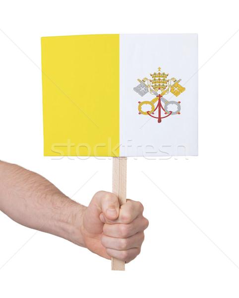 стороны небольшой карт флаг Ватикан Сток-фото © michaklootwijk
