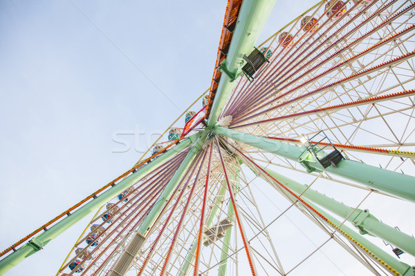 Old ferris wheel Stock photo © michaklootwijk