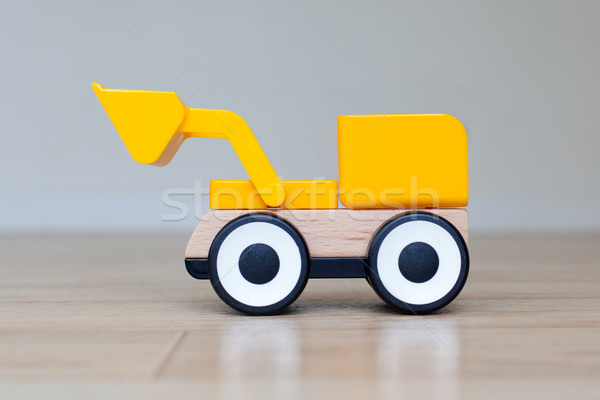 Simple wheel dozer toy Stock photo © michaklootwijk