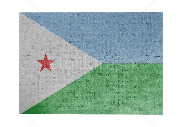 1000 sztuk Dżibuti banderą Zdjęcia stock © michaklootwijk