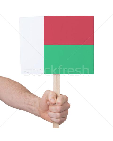 стороны небольшой карт флаг Мадагаскар Сток-фото © michaklootwijk