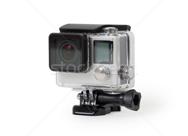High-definition personal camera, isolated, no brand Stock photo © michaklootwijk