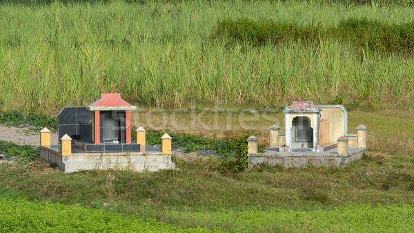 Dos edad campo central Vietnam cuerpo Foto stock © michaklootwijk