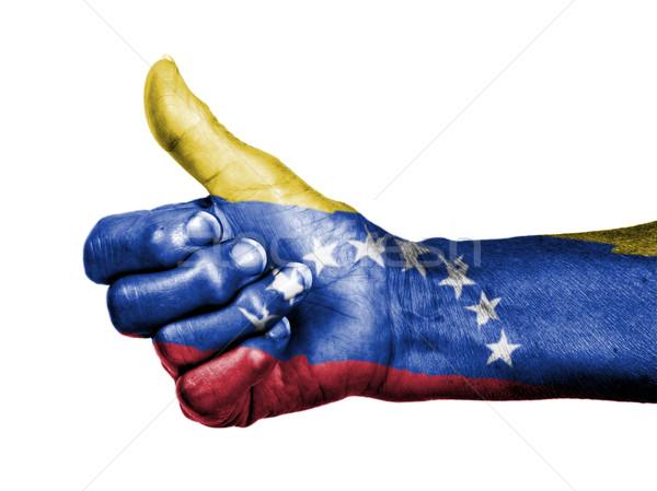 старуху знак флаг шаблон Венесуэла Сток-фото © michaklootwijk