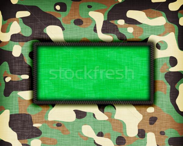 Uniforme Líbia bandeira textura abstrato Foto stock © michaklootwijk