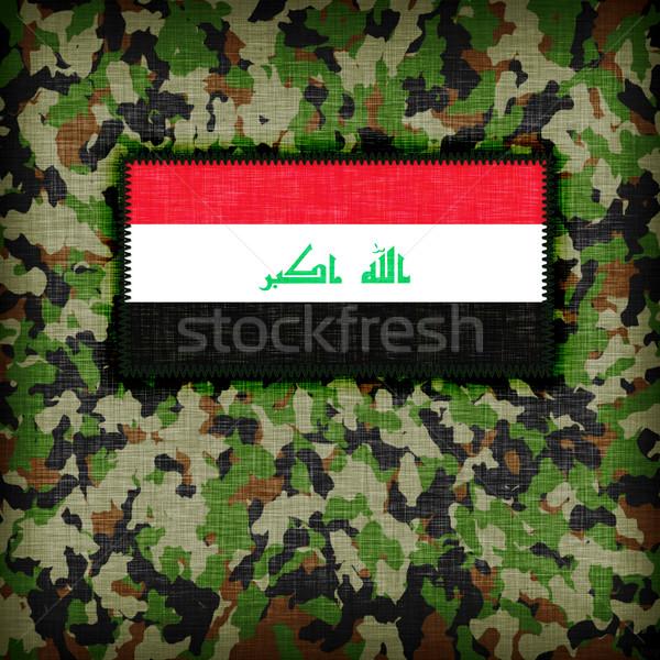 Amy camouflage uniform, Iraq Stock photo © michaklootwijk