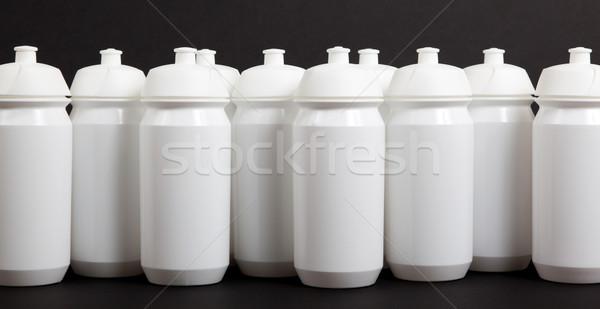White water bottles Stock photo © michaklootwijk