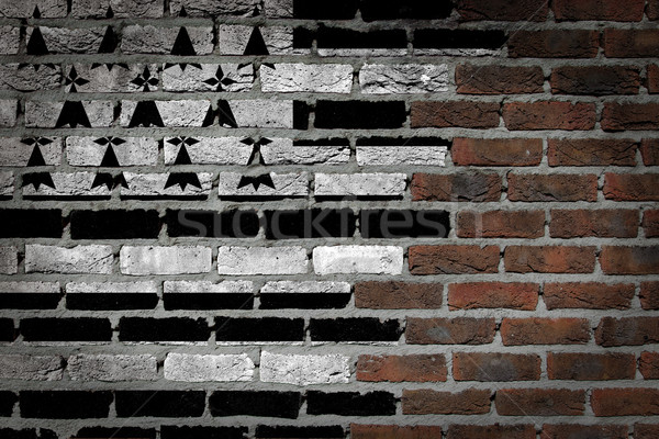 Dark brick wall - Brittany Stock photo © michaklootwijk
