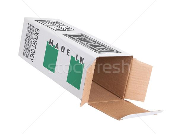 Eksport produktu Nigeria papieru polu Zdjęcia stock © michaklootwijk