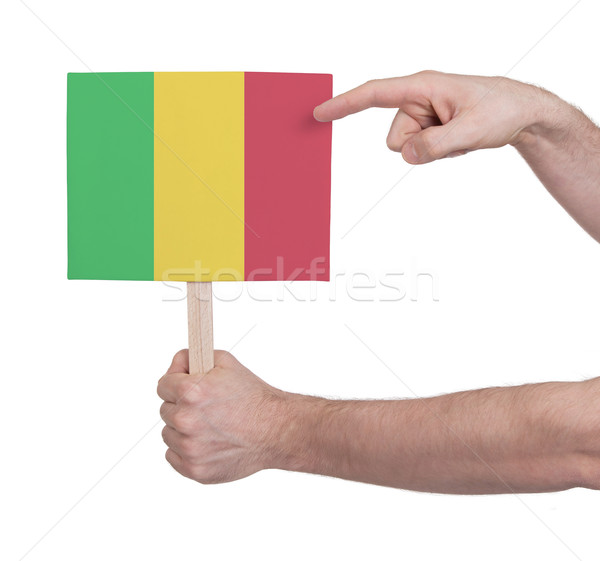 стороны небольшой карт флаг Мали Сток-фото © michaklootwijk